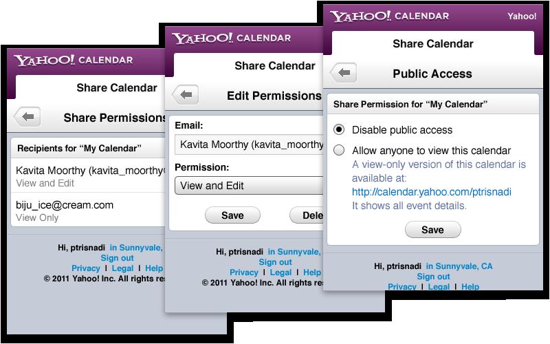 Calendar Typography Yahoo : Paulus trisnadi user experience product designer yahoo